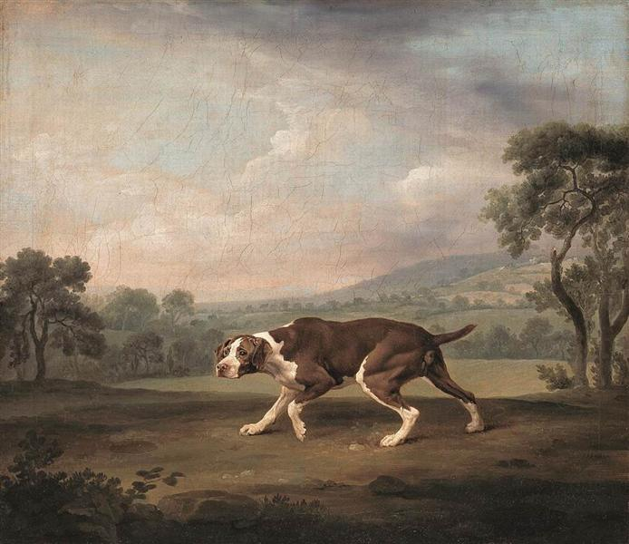 Spanish Pointer - George Stubbs