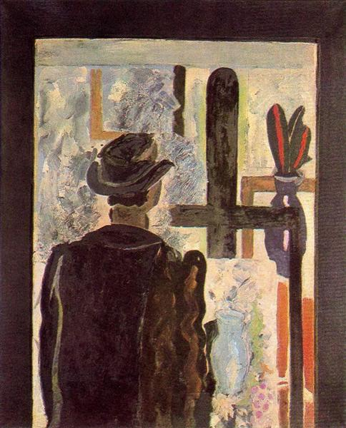A man at the easel, 1942 - Georges Braque