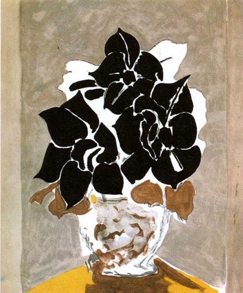 Amaryllis, 1958 - Georges Braque