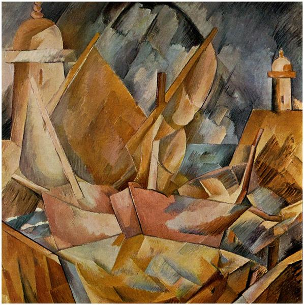 Harbor in Normandy, 1909 - Georges Braque