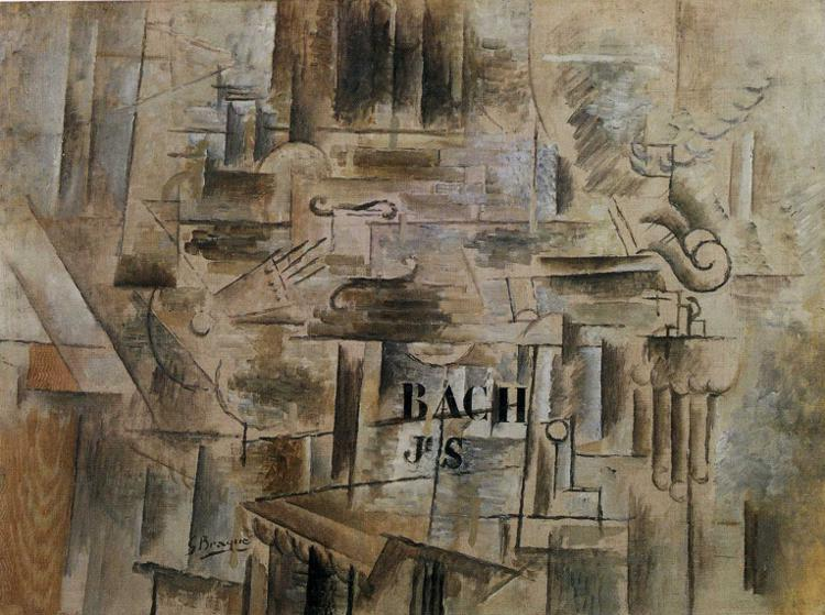 Homage to J.S. Bach, 1912 - Georges Braque
