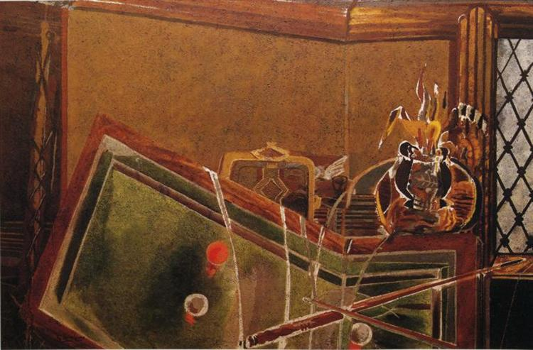 The Billiard Table, 1944 - Georges Braque