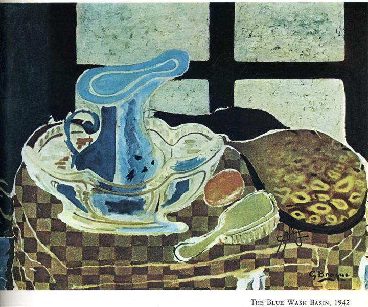 The Blue Washbasin, 1942 - Georges Braque