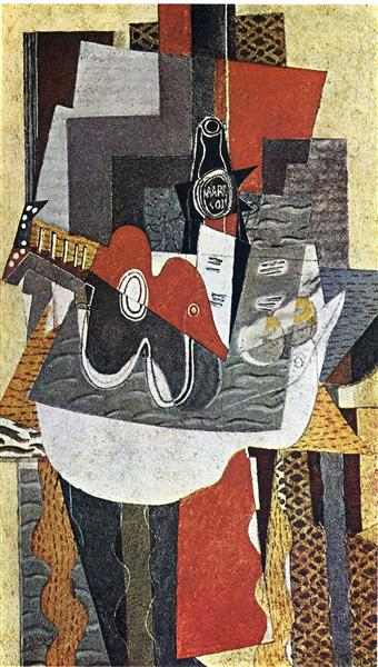 The Bottle of Marc, 1930 - Georges Braque
