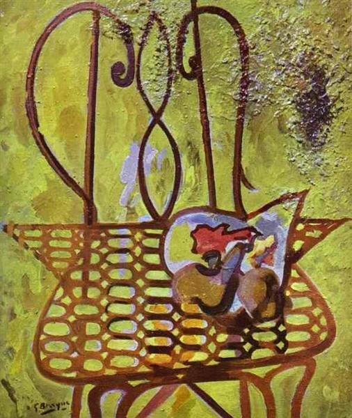 The Chair, 1948 - Georges Braque