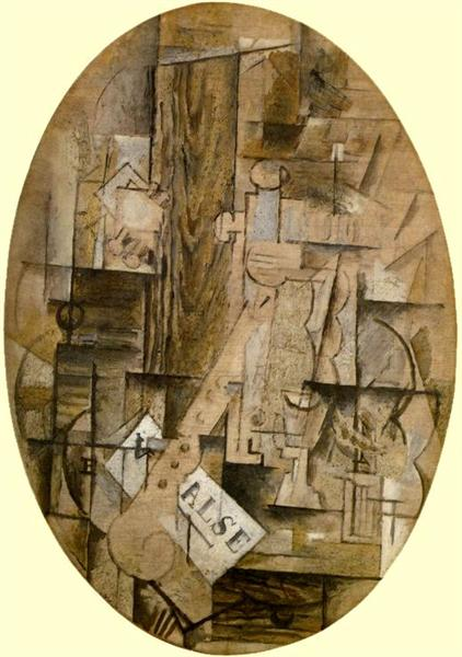The Clarinet Valse, 1912 - Georges Braque