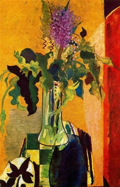 The Glass of Lilac, 1946 - Georges Braque