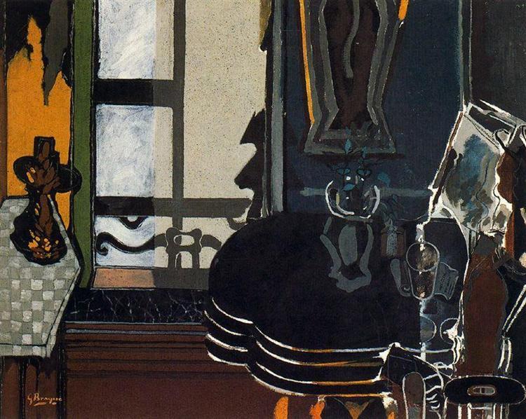 The Salon, 1944 - Georges Braque