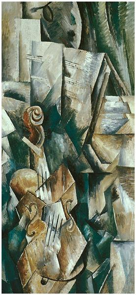 Violin and Palette, 1909 - Georges Braque