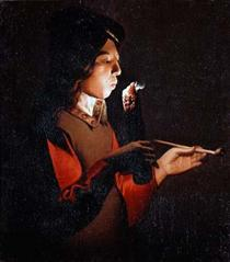 Smoker - Georges de la Tour