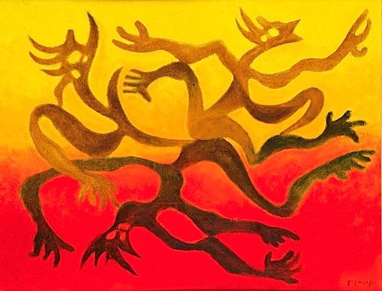 Figures et ombres, 1970 - Georges Papazoff