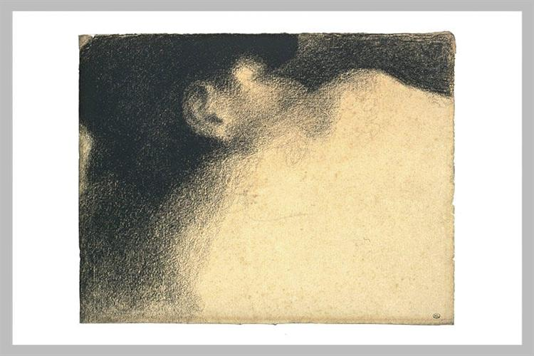 Sleeping Woman - Georges Seurat