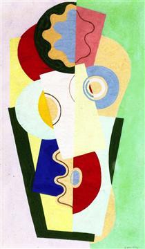 Mazzo di fiori - Georges Valmier