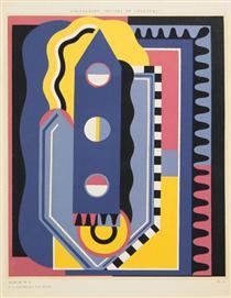 Dalla collezione Decors et Couleurs, album n. 1 - Georges Valmier