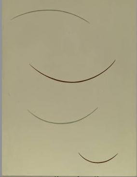Curving Function (Greenish Brown), 1938 - Georges Vantongerloo