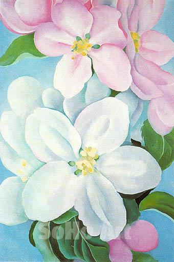 Apple Blossoms, 1930 - Georgia O'Keeffe