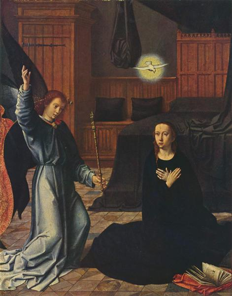The Annunciation, c.1520 - Gerard David