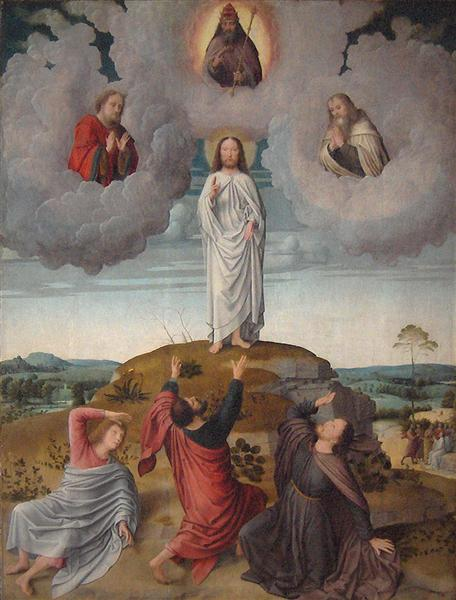 The Transfiguration of Christ (central panel), 1520 - Gerard David