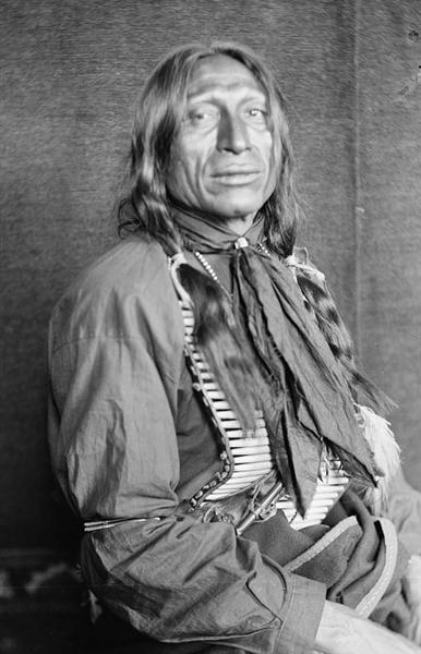 Chief Iron Tail, 1898 - Gertrude Kasebier