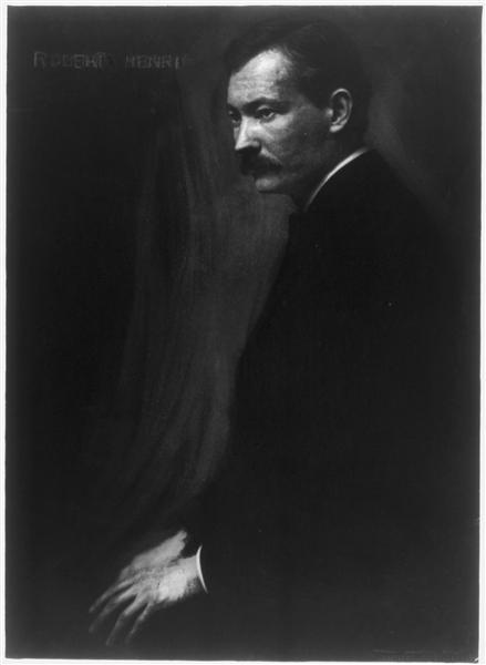 Portrait of Robert Henri, 1907 - Gertrude Kasebier