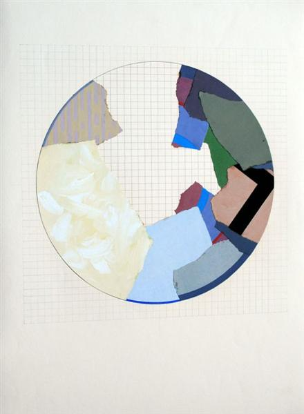 The Rule of the Circle, The Rule of the Game, 1985 - Geta Bratescu