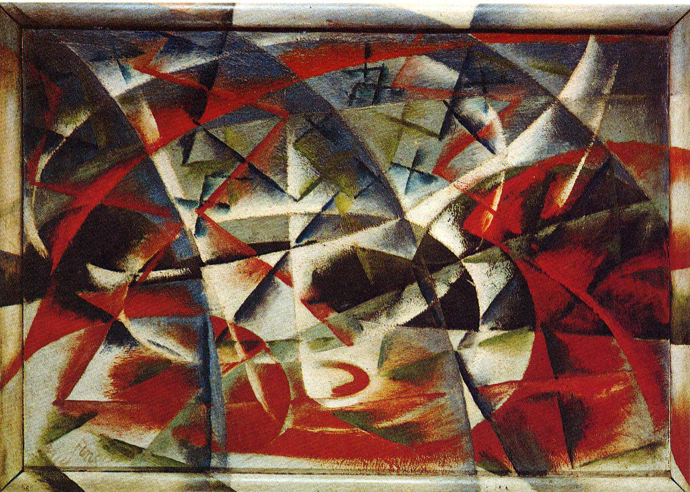 Art of the Day: Giacomo Balla, Street Light