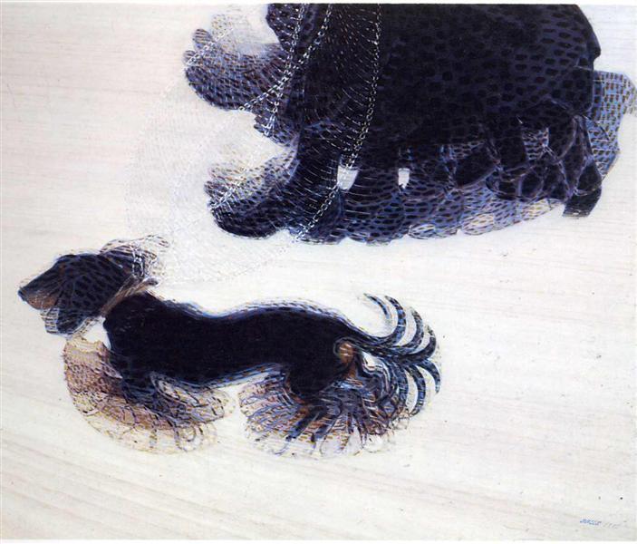 Dynamism of a Dog on a Leash, 1912 - Giacomo Balla