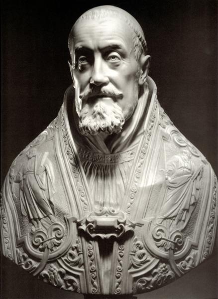Bust of Pope Gregory XV, 1621 - Лоренцо Берніні