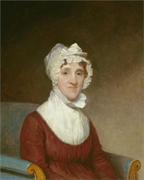 Sarah Homes Tappan, 1814 - Gilbert Stuart
