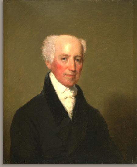 Stephen Salisbury I, 1824 - Gilbert Stuart