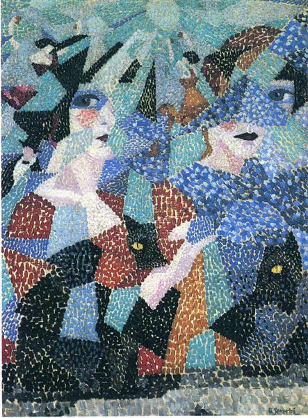 The Haunting Dancer, 1911 - Gino Severini