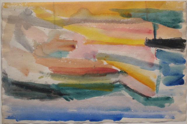 Untitled, 1946 - Giorgio Cavallon