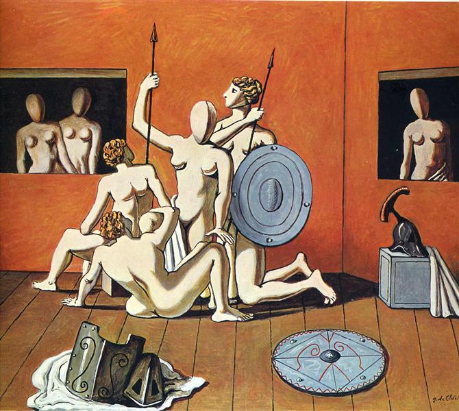 Gladiators - Giorgio de Chirico