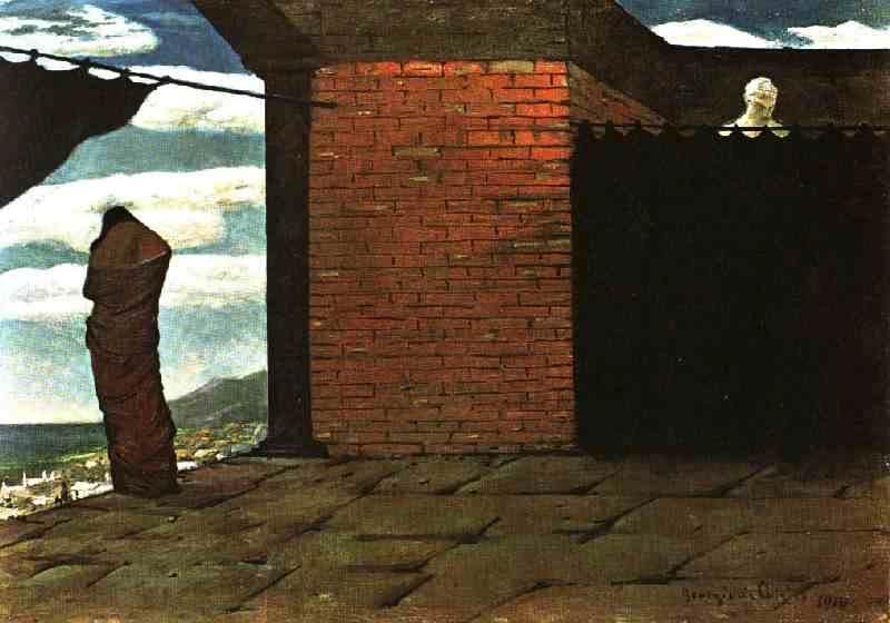 Giorgio de Chirico - Page 2 The-enigma-of-the-oracle-1910