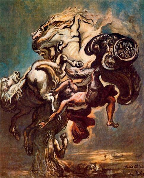 The Fall of Phaeton, 1913 - Giorgio de Chirico