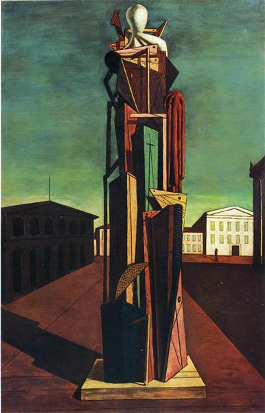 The Great Metaphysician, 1917 - Giorgio de Chirico