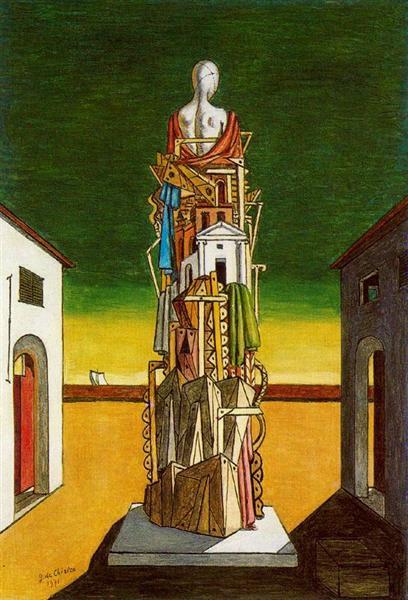 The Great Metaphysician, 1971 - Джорджо де Кіріко