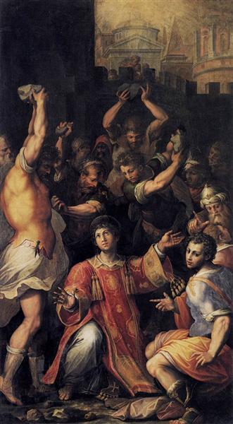 Martyrdom of St. Stephen, c.1560 - Giorgio Vasari