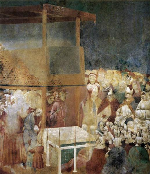Canonization of St Francis, 1300 - Giotto