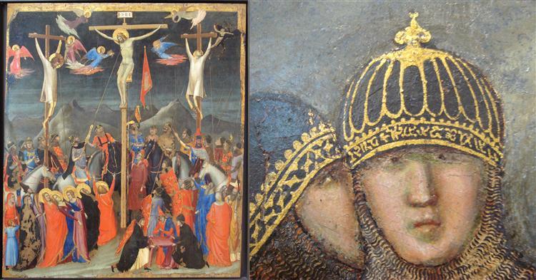 Crucifixion, c.1330 - Giotto