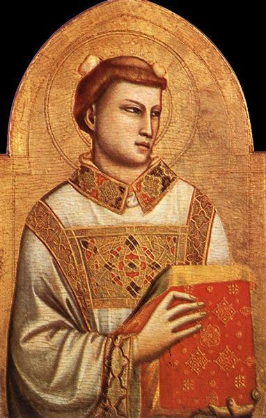 Saint Stephen, c.1320 - c.1325 - Giotto