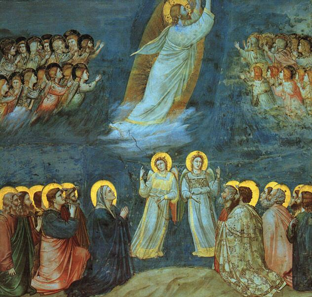 The Ascension, c.1305 - Giotto