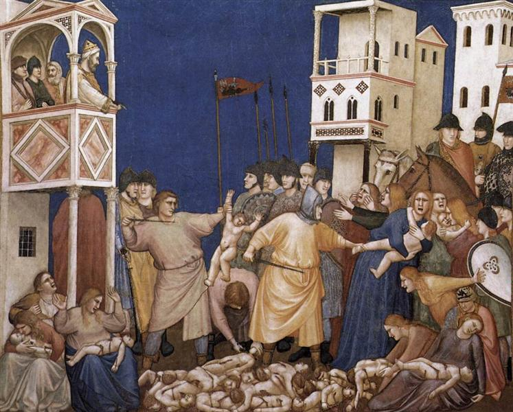 The Massacre of the Innocents, c.1311 - c.1320 - Giotto