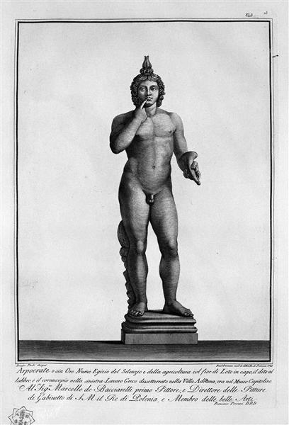 Harpocrates - Giovanni Battista Piranesi
