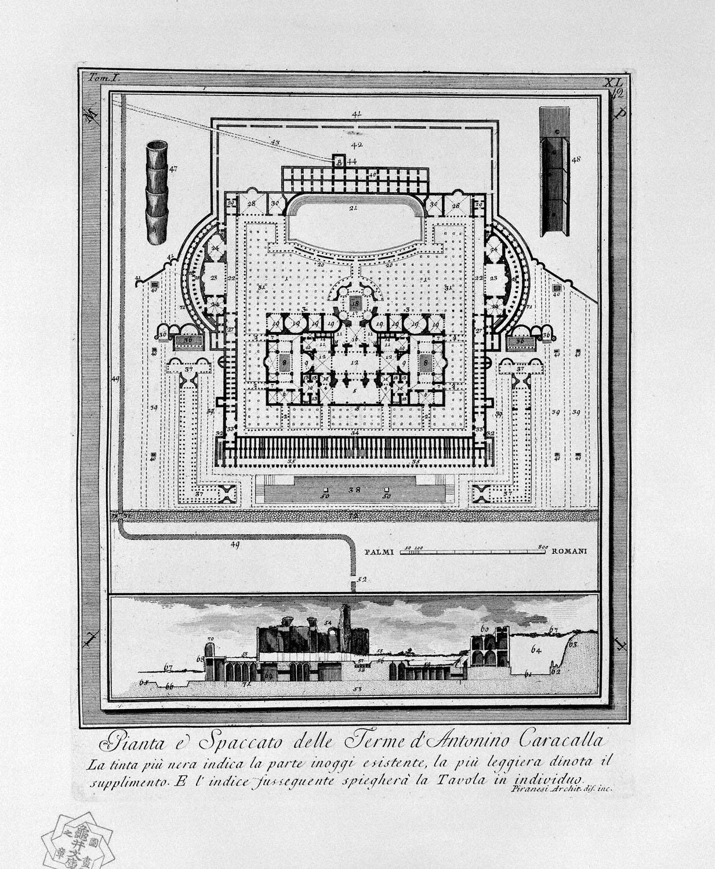 The Roman antiquities, t. 1, Plate XL, 1756