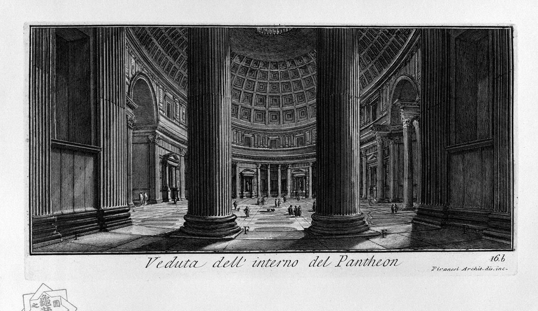 The Roman antiquities, t. 1, Plate XV. Pantheon., 1756