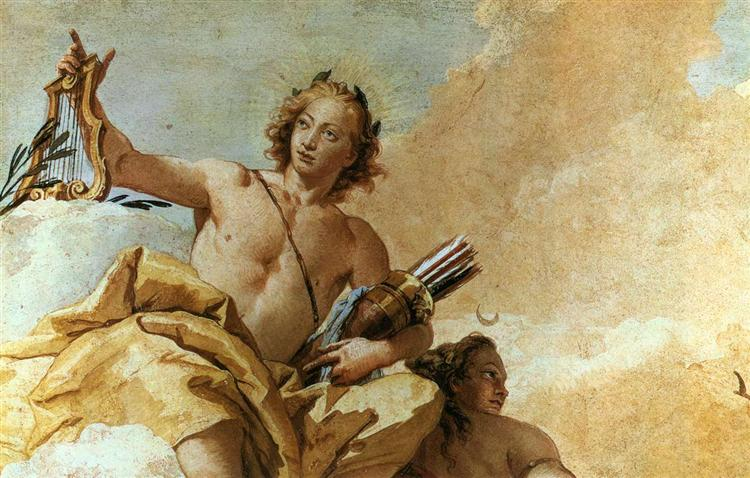 Apollo and Diana, 1757 - Джованни Баттиста Тьеполо