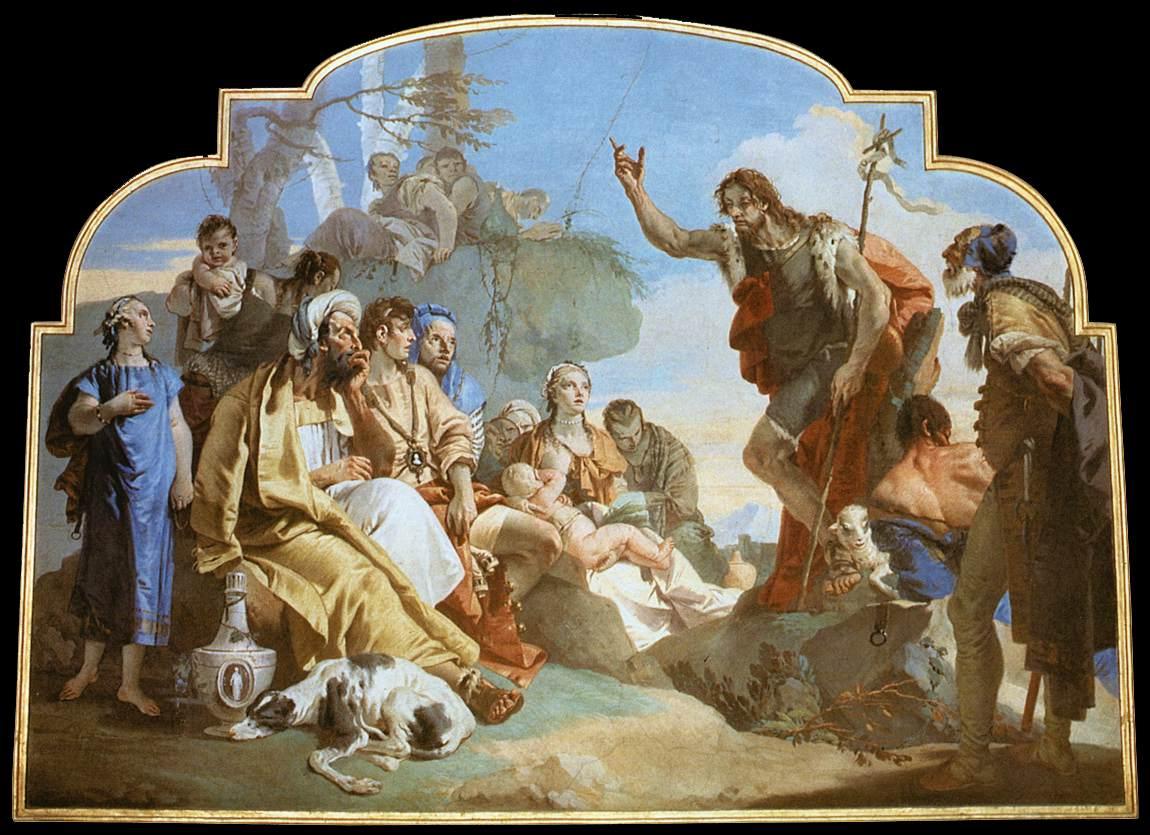 Vijaya bodach st john the baptist for The giovanni
