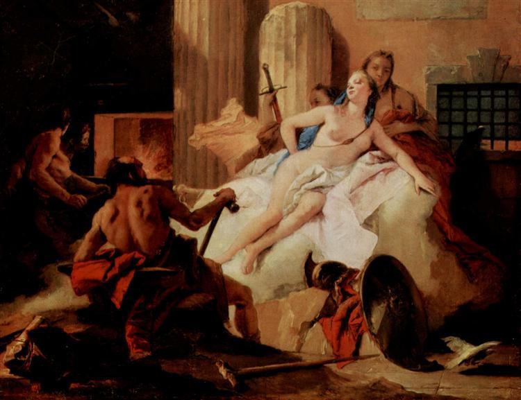 Venus and Vulcan, 1758 - 1760 - Giovanni Battista Tiepolo