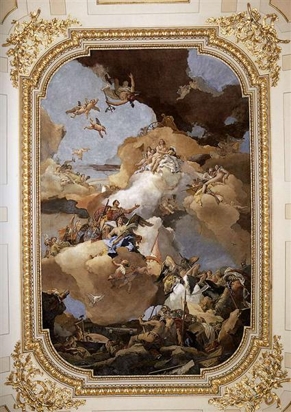 Venus and Vulcan, 1762 - 1766 - Giovanni Battista Tiepolo